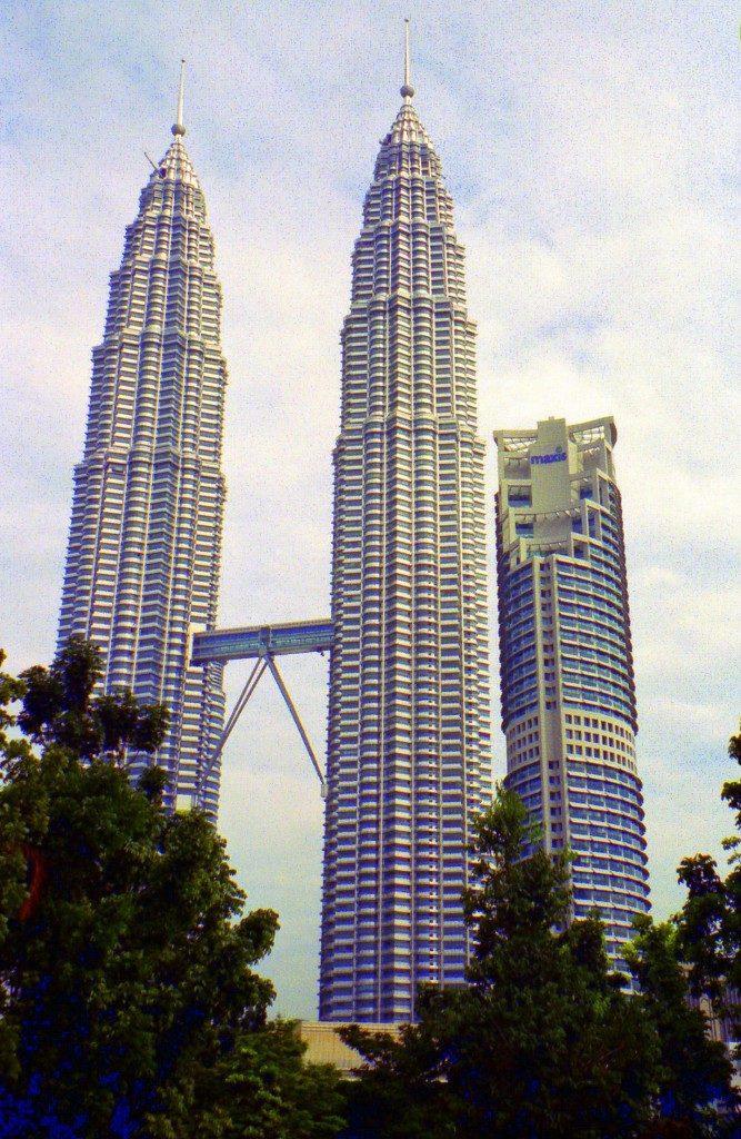 The Petronas Towers Kuala Lumpur