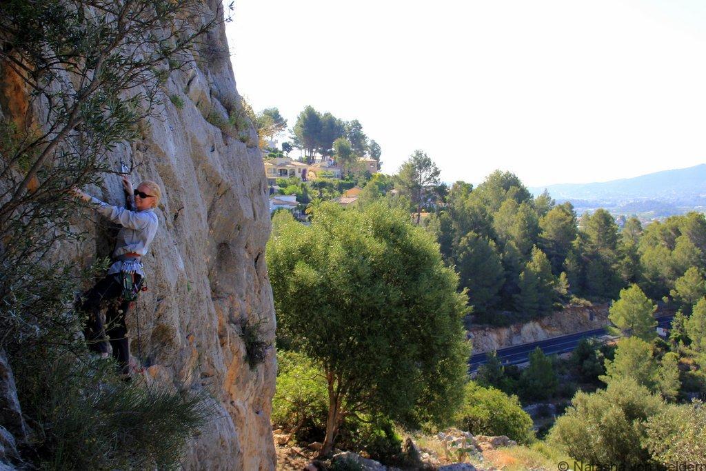 Alcalali rock climbing Costa Blanca
