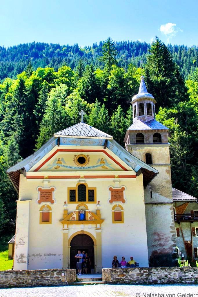 Chapel Notre Dame de la Gorge Tour du Mt Blanc