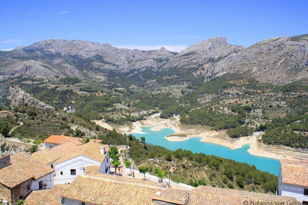 Guadalest reservoir, Costa Blanca