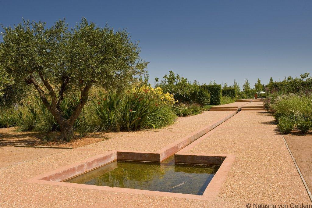 Provence - la fontaine - Jardins de Collette
