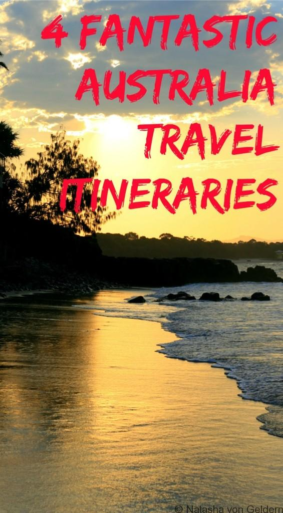 4 fantastic Australia travel itineraries