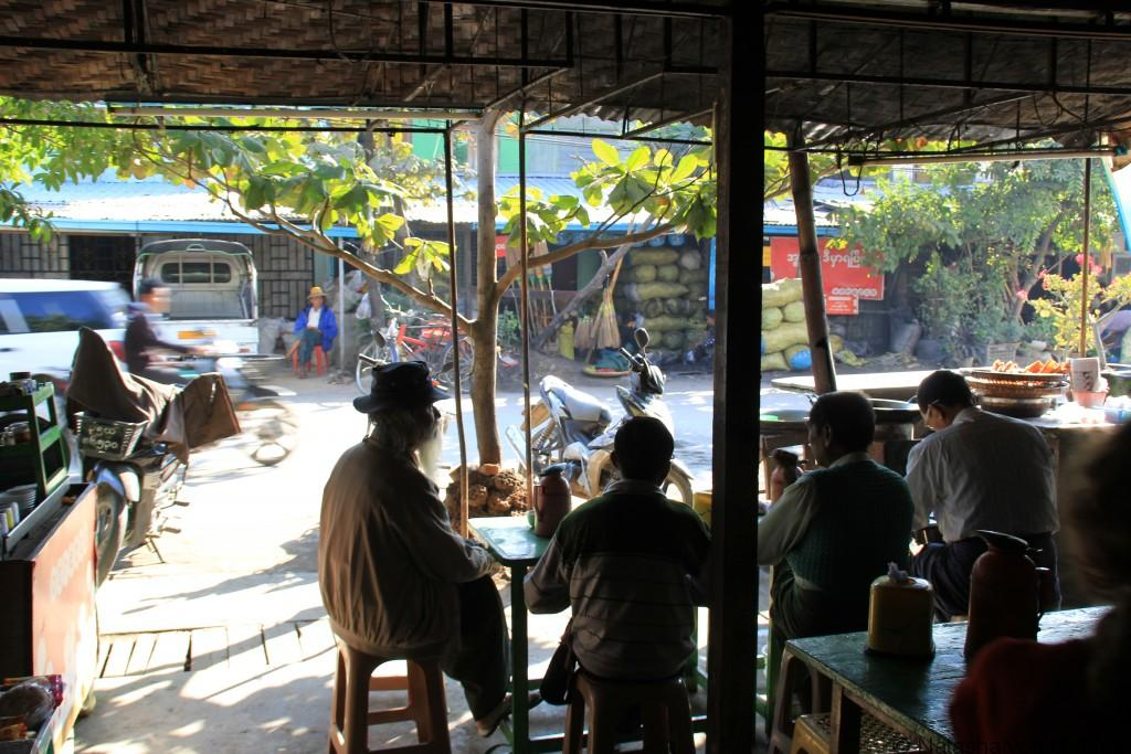 Mandalay Tea Shop Myanmar