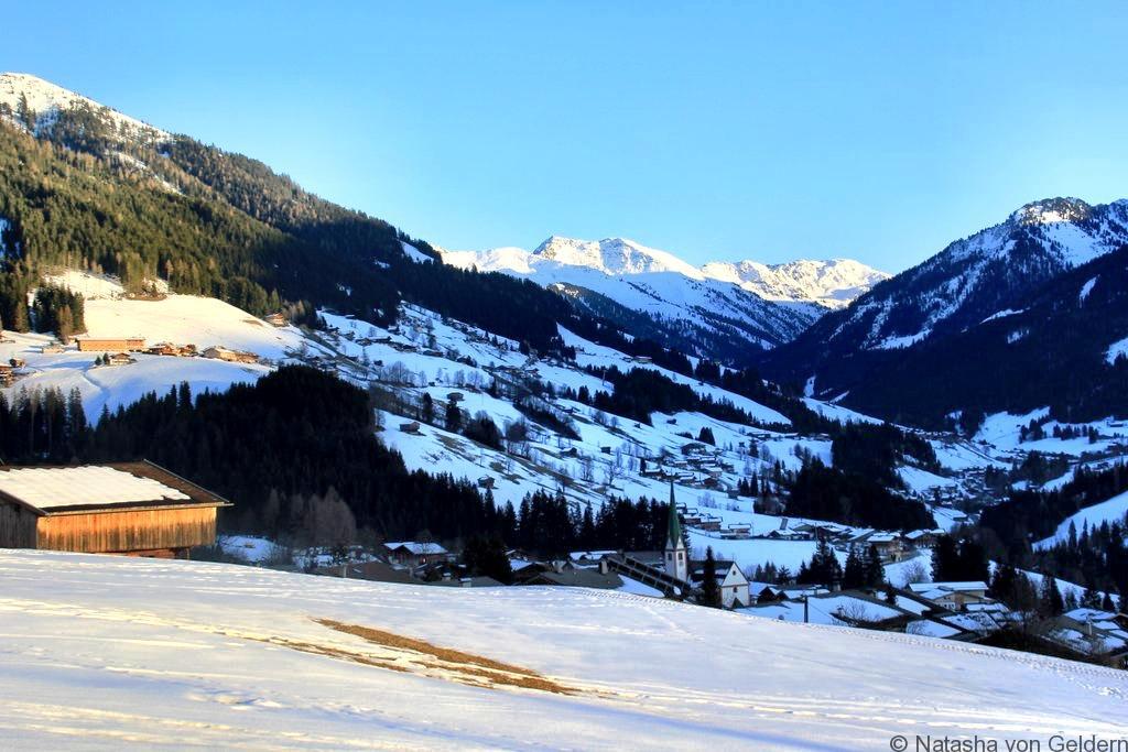Alpbach village Tirol Austria
