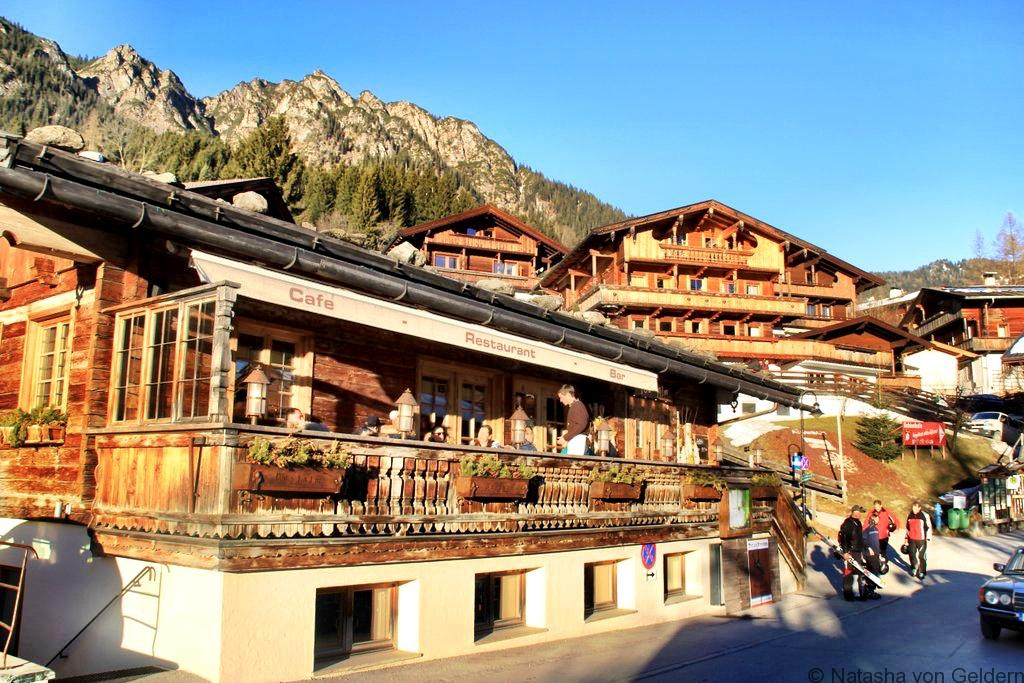 Alpbach village centre Postalm Tirol Austria