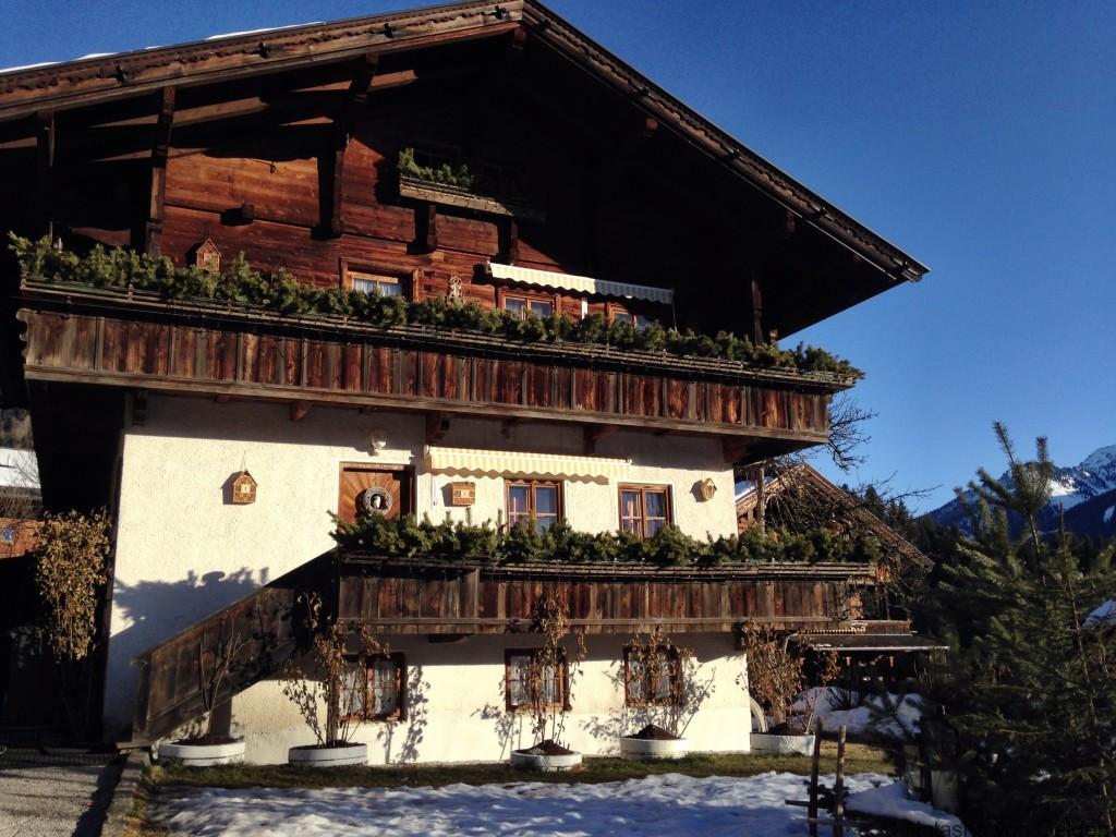 Ferienhaus Lehrerhausl Alpbach ski holiday Tirol Austria