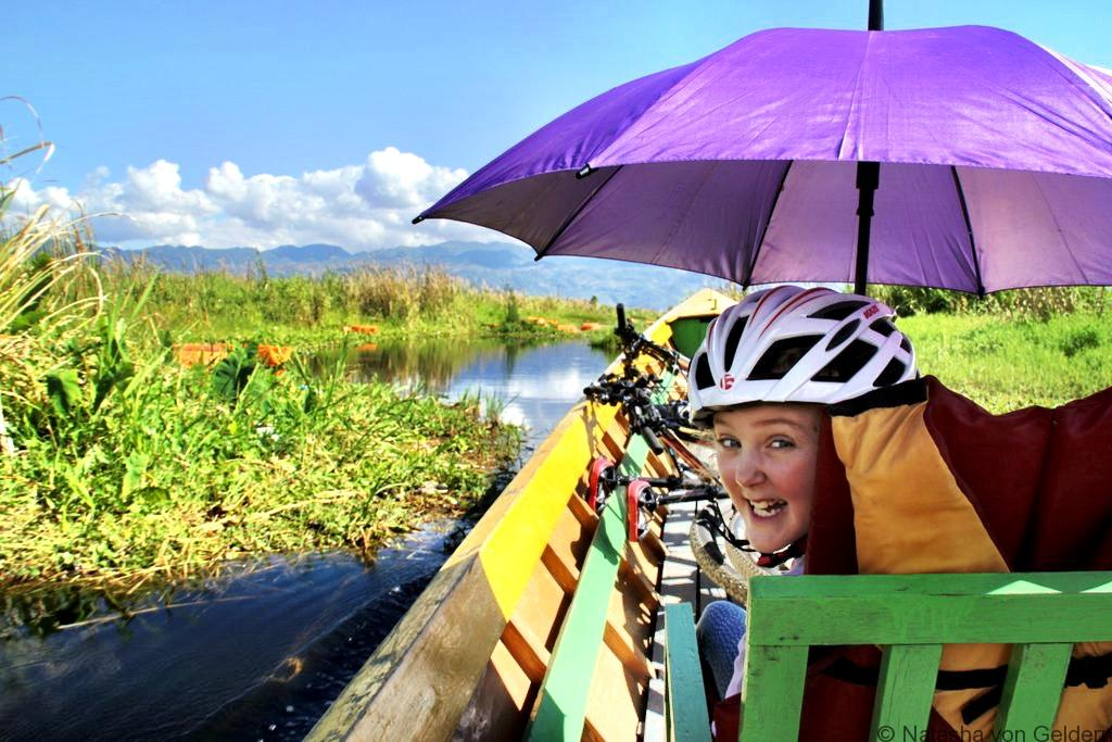 Inle Lake bike boat kayake tour Myanmar