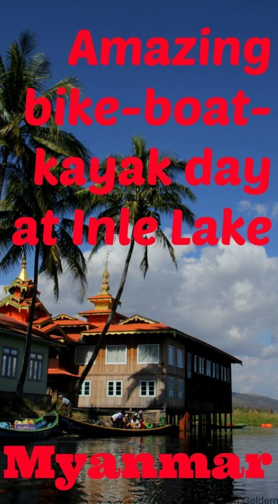 Inle Lake bike tour plus kayak Myanmar