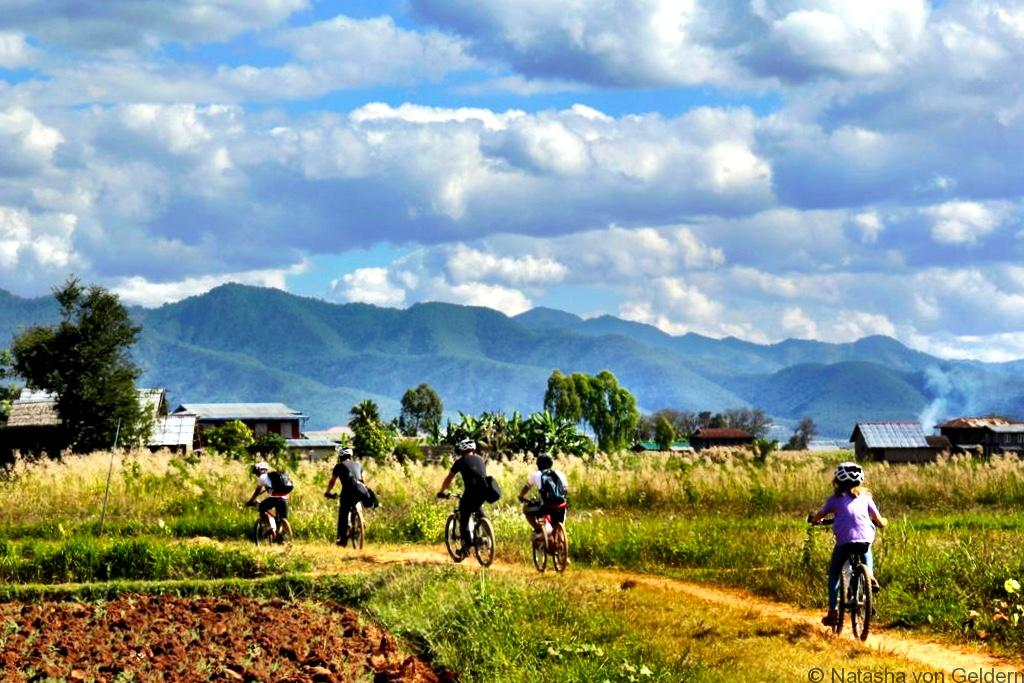 Myanmar Inle Lake Bike Tour With a difference