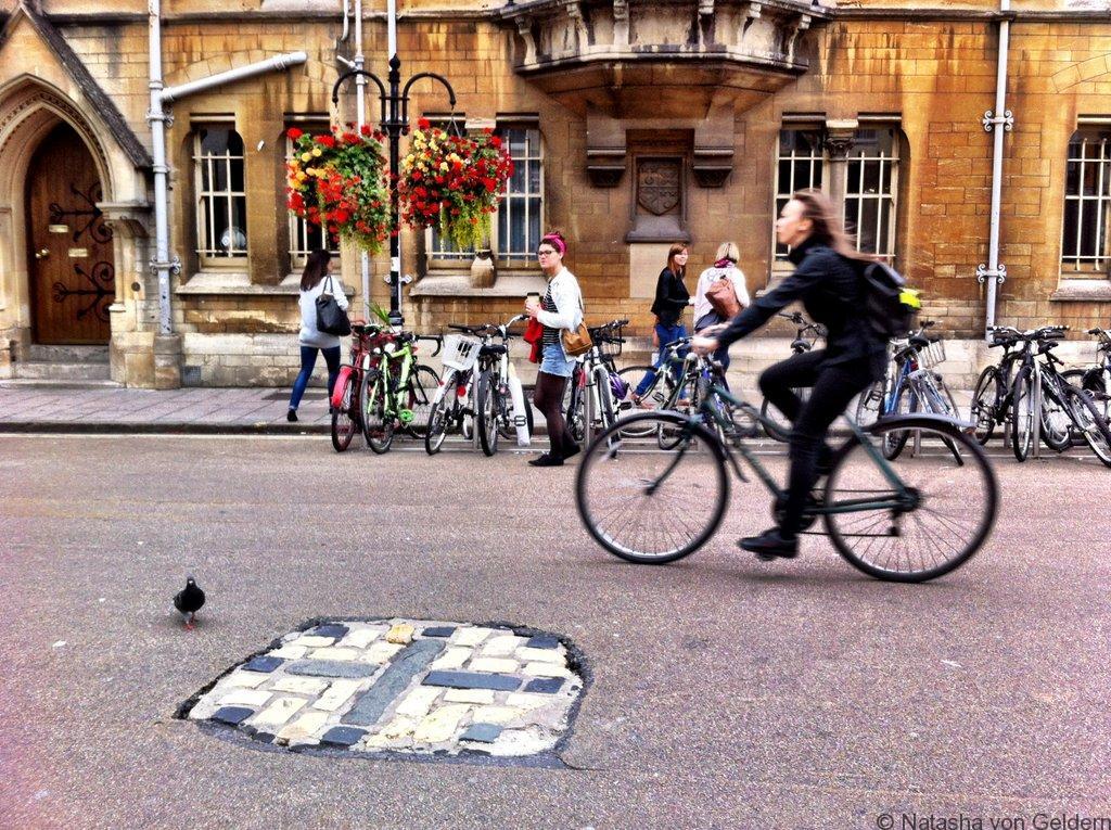 Oxford Martyr's Cross England