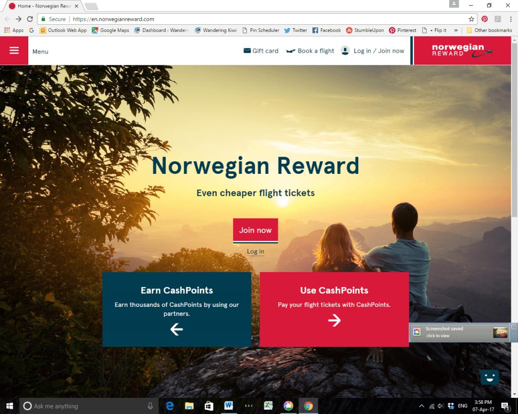 Norwegian Rewards