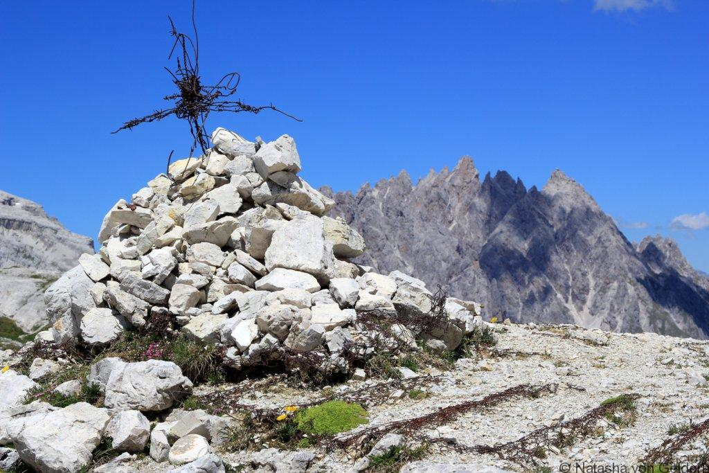Dolomite Mountains WW1 remnants
