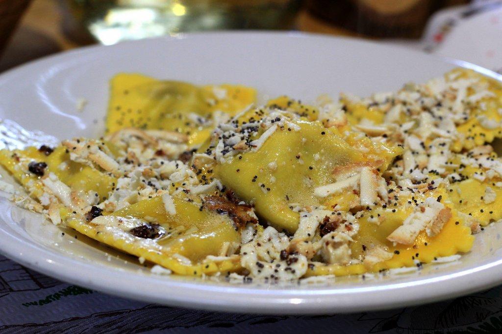 Rifugio Vandelli dinner Dolomite Mountains AV4 Italy