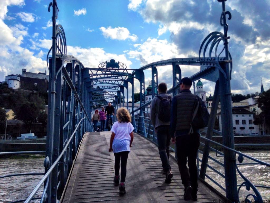 Mozart Bridge Salzburg Austria