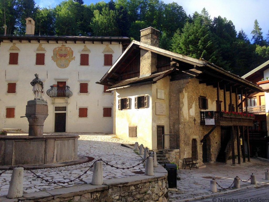 Titian's birthplace Pieve di Cadore Italy
