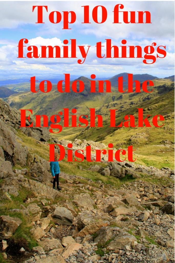 Top 10 fun family things to do in the Lake District