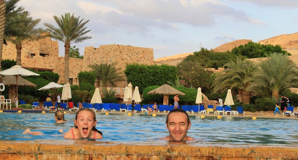 Movenpick Dead Sea Spa and Resort Jordan Wandering Kiwi fun