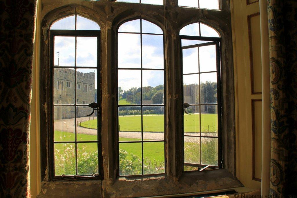 Windows of Leeds Castle KentWindows of Leeds Castle Kent