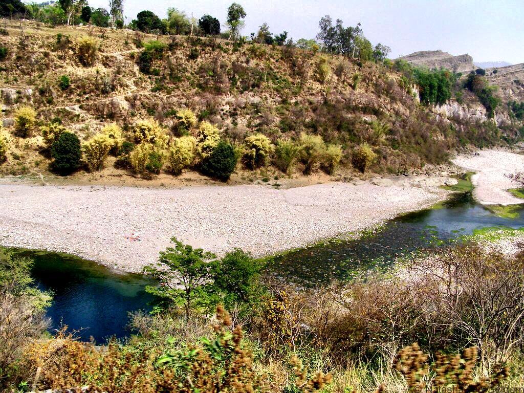 Kangra Valley Railway river view India