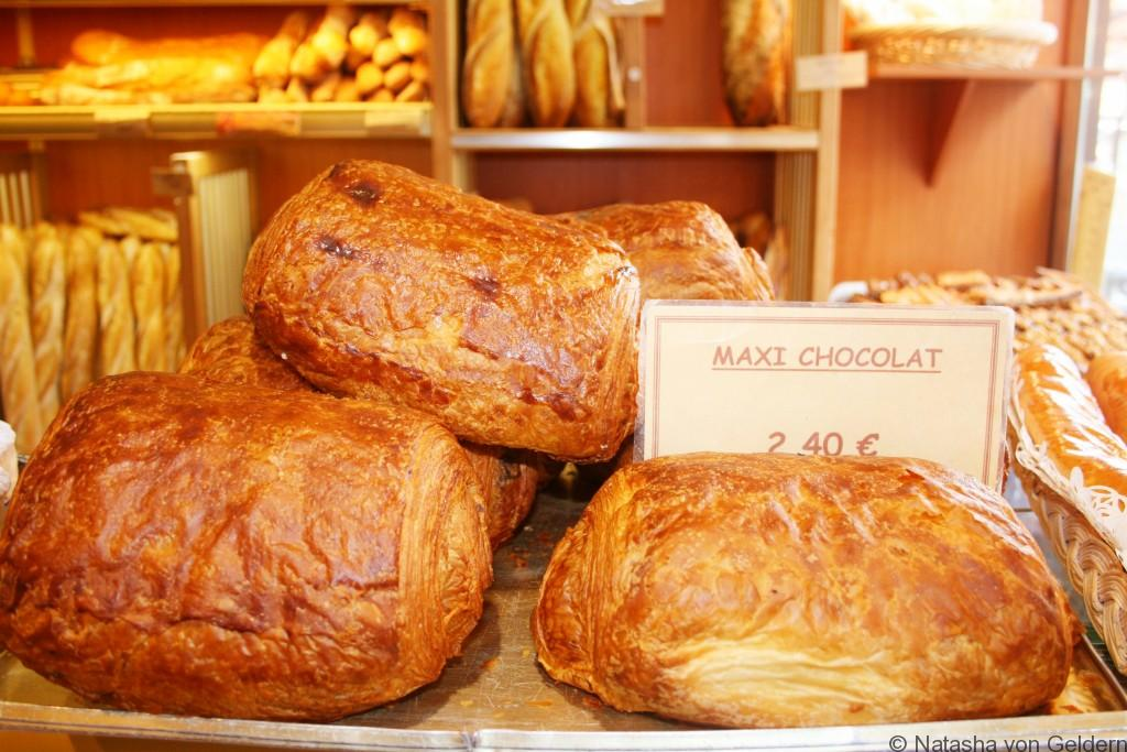 Giant pain au chocolat - France