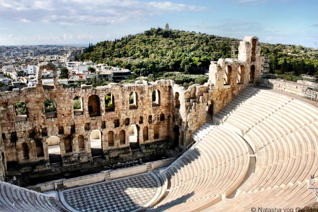 Greek Theatre Athens Greece
