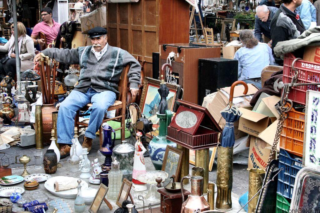 Monastariki market Athens Greece