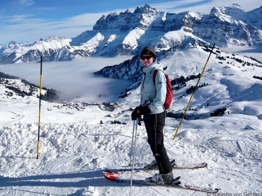 Skiing in Morzine Avoriaz France