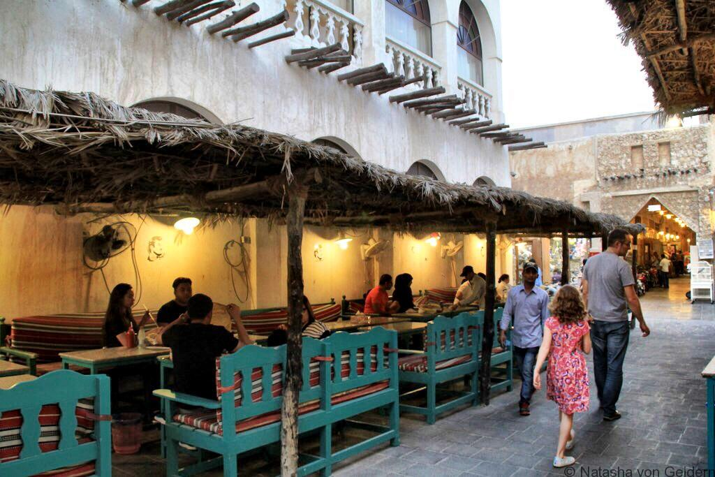 Souq Waqif Shoomoos cafe Doha