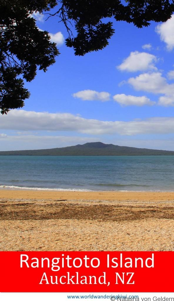 Rangitoto Island day trip Auckland New Zealand
