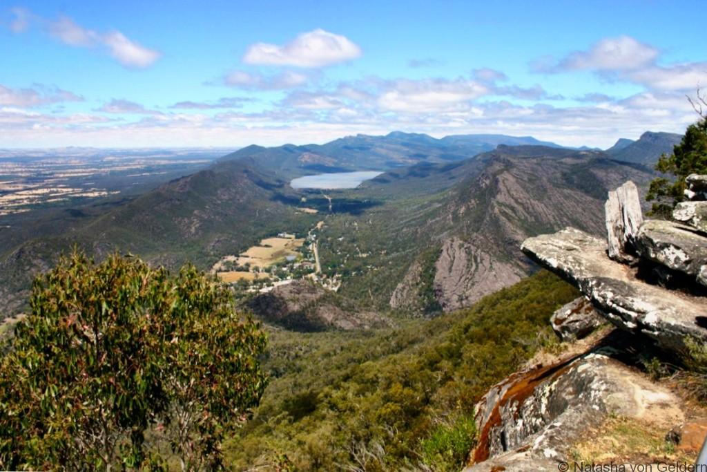 Grampians viewpoint Victoria Australia