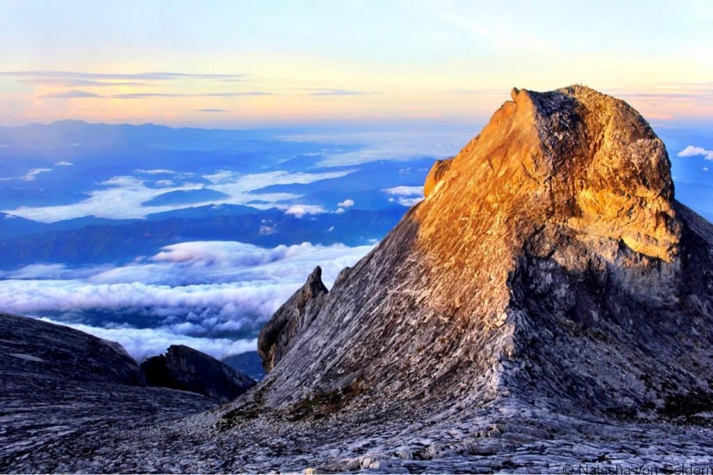 Mt Kinabalu summit views Malaysia Borneo