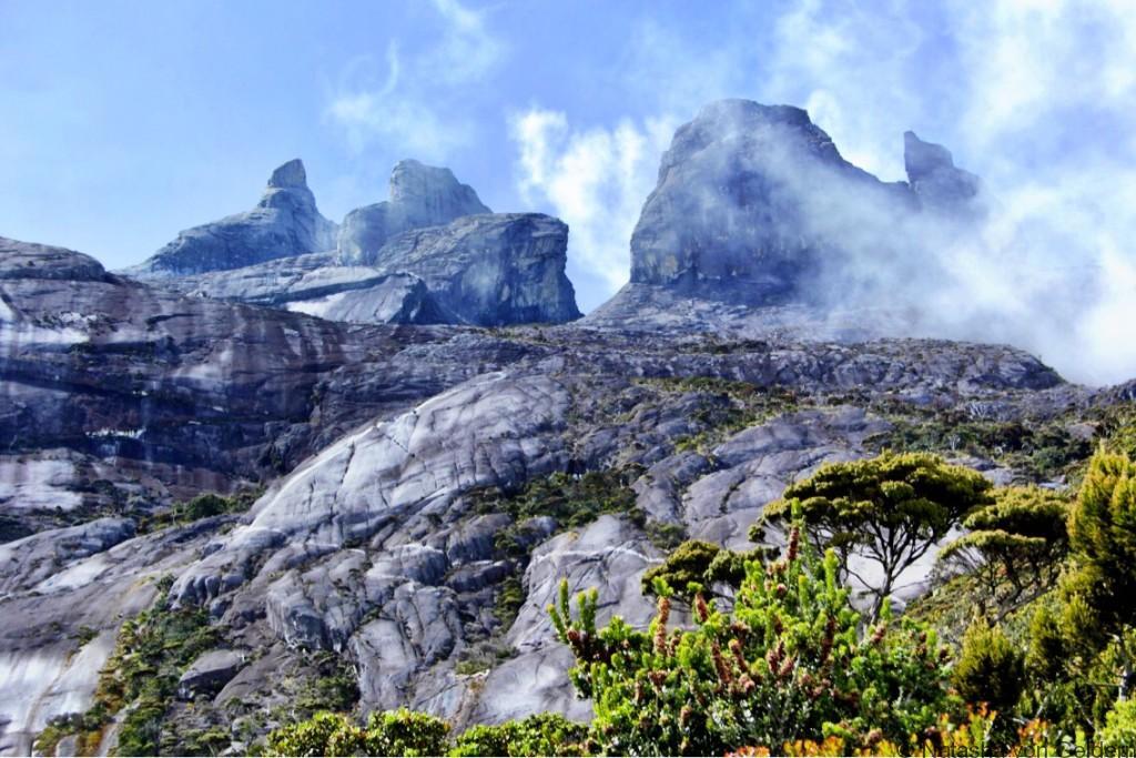 Mt Kinabalu view from Laban Rata Malaysia